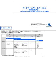 マーケティングオートメーション総合支援プラン サービス資料